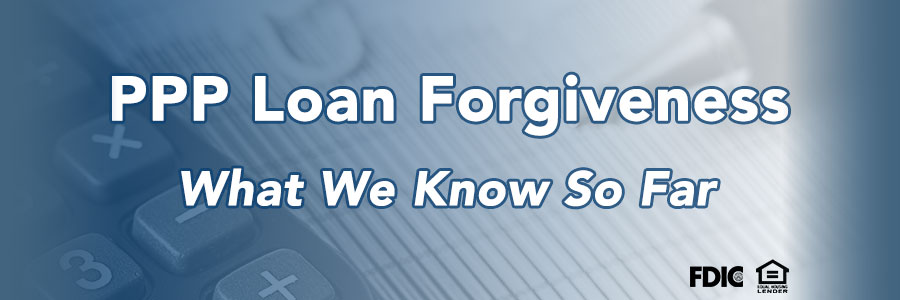 PPP Loan Forgiveness Banner