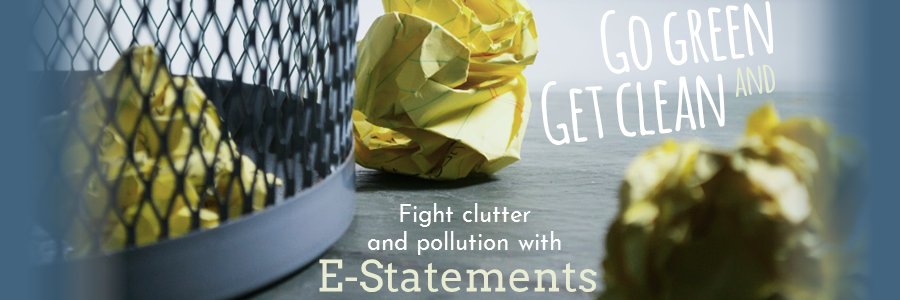 E-Statements Banner